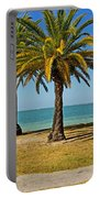 The Joy Of Sea And Palms Portable Battery Charger