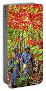 The Joys Of Autumn Camping Portable Battery Charger