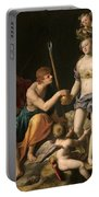 The Judgement Of Paris Portable Battery Charger