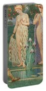 The Judgment Of Paris Portable Battery Charger
