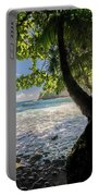 The Jungle At Onomea Bay  Portable Battery Charger
