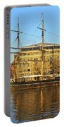 The Kaskelot In Bristol Dock Portable Battery Charger