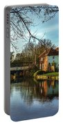 The Kennet And Avon Canal At Sulhamstead Portable Battery Charger