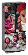 The Kids Of India Collage Portable Battery Charger
