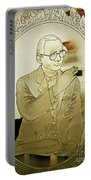 The King Of Thailand  Bhumibol Adulyadej- Cut Glass Window Portable Battery Charger