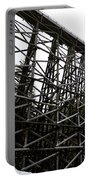 The Kinsol Trestle Panorama View On Snowy Day 1. Portable Battery Charger