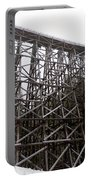 The  Koksilah River Trestle With Snow 1. Portable Battery Charger