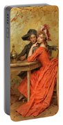 The Lady In Red Portable Battery Charger