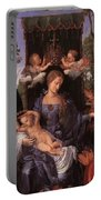 The Lady Of The Festival Du Rosaire Fragment Portable Battery Charger