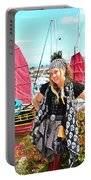 The Lady Pirate Portable Battery Charger