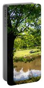 The Lake In The Park Portable Battery Charger