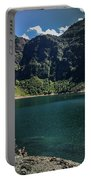 The Lake On A Mountain Portable Battery Charger