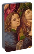 The Lamentation Of Christ Portable Battery Charger