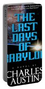 The Last Days Of Babylon Book Cover Portable Battery Charger