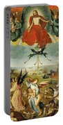 The Last Judgement Portable Battery Charger by Jan II Provost