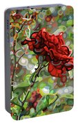 The Last Rose Of Summer Portable Battery Charger