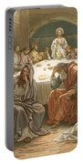 The Last Supper Portable Battery Charger by John Lawson