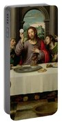 The Last Supper Portable Battery Charger by Vicente Juan Macip