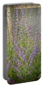 The Lavender Outside Her Window Portable Battery Charger