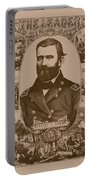 The Leader And His Battles - General Grant Portable Battery Charger