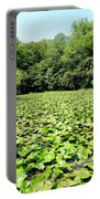 The Lily Pond #1 Portable Battery Charger