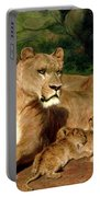 The Lions At Home Portable Battery Charger