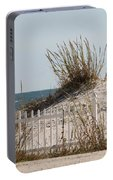 The Little Dune And The White Picket Fence Portable Battery Charger
