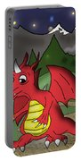 The Little Red Dragon Portable Battery Charger