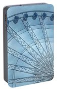 The Liverpool Wheel In Blues 2 Portable Battery Charger