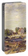 The Loing At Saint Mammes 1885 Portable Battery Charger