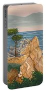 The Lone Cypress Tree Portable Battery Charger