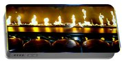 The Lounge Fireplace Portable Battery Charger