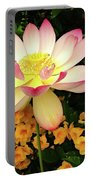 The Lovely Lotus Portable Battery Charger