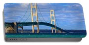 The Mackinac Bridge Portable Battery Charger