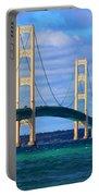 The Mackinac Bridge Portable Battery Charger
