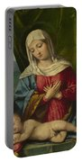 The Madonna And Child With Saints Portable Battery Charger