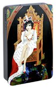 The Majestic Joan Collins D B E Portable Battery Charger