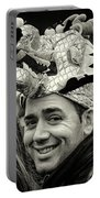The Man In The Dragon Hat Portable Battery Charger