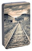 The Man On The Tracks Portable Battery Charger