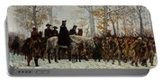 The March To Valley Forge, Dec 19, 1777 Portable Battery Charger