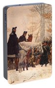 The March To Valley Forge Portable Battery Charger