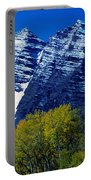 The Maroon Bells Aspen Colorado Portable Battery Charger