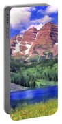 The Maroon Bells Portable Battery Charger
