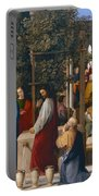 The Marriage At Cana Portable Battery Charger by Julius Schnorr von Carolsfeld