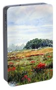 The Marsh In Bloom Portable Battery Charger