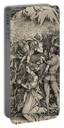 The Martyrdom Of St. Catherine Of Alexandria Portable Battery Charger