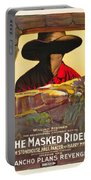 The Masked Rider 1919 Portable Battery Charger