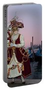 The Masks Of Venice Carnival Portable Battery Charger