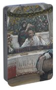 The Meal In The House Of The Pharisee Portable Battery Charger