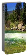 The Merced River In Yosemite Portable Battery Charger